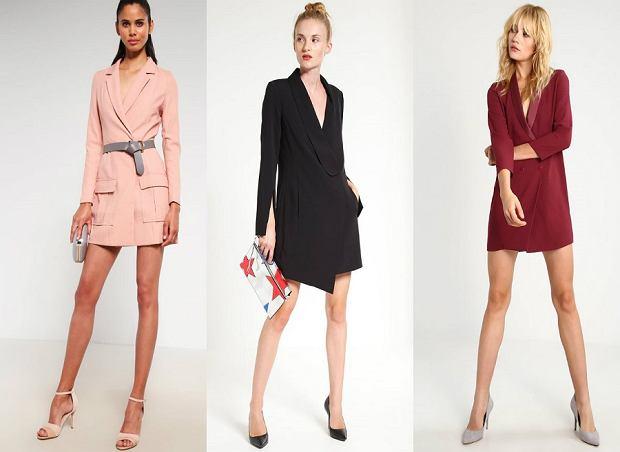 Sukienka jak żakiet - trzy modne stylizacje