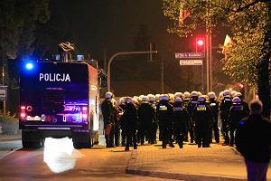 Zamieszki w Knurowie. Pobojowisko na ulicach, trwa szacowanie strat