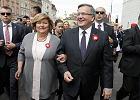 Bronisław Komorowski z żoną Anną, Święto Narodowe 3 Maja