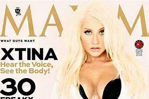 Christina Aguilera rozebrała się dla magazynu Maxim!