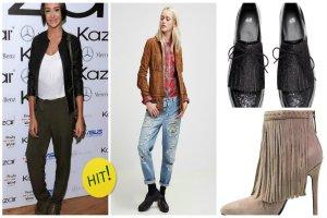 Buty z fr�dzlami - modny dodatek w stylu boho [Kazar, Bata i inne marki]