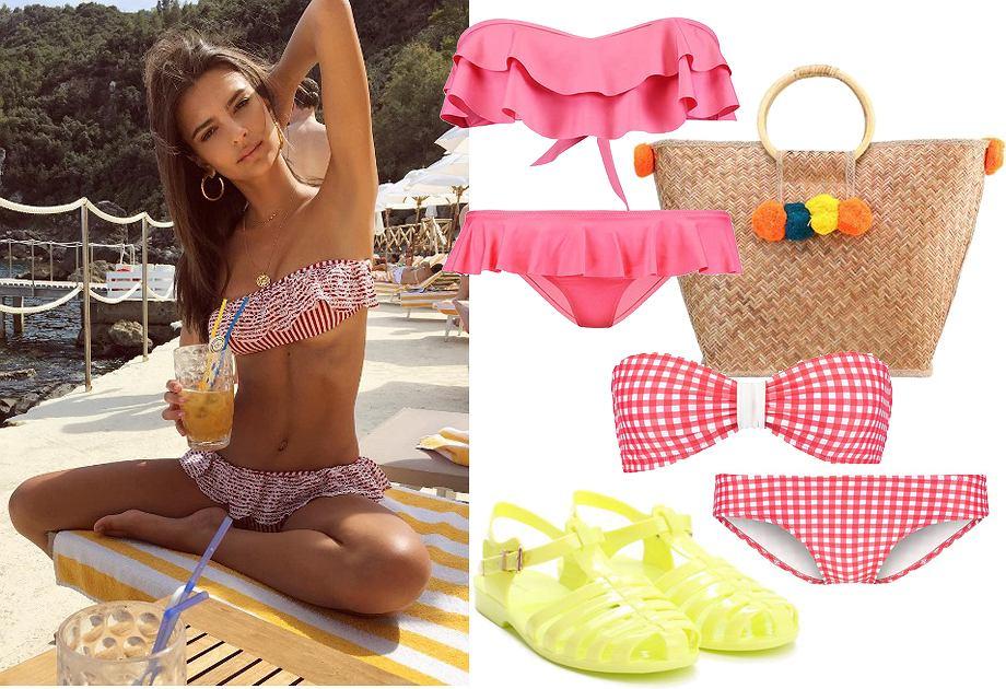 f85ae8ed Plażowanie w stylu seksownej pin-up girl. Najmodniejsze kostiumy z ...