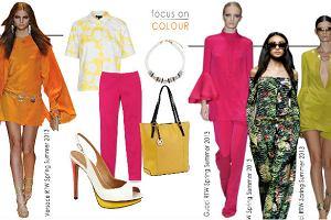 S�oneczne stylizacje od marki Kazar - kolorowe sanda�y i torebki