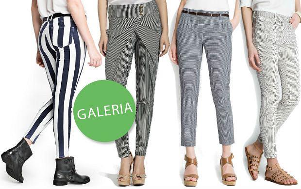 Spodnie w paski dla twojej figury - dla kogo poziomie, a dla kogo pionowe?