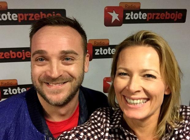 Mateusz Gessler i Odeta Moro w 'Morowym Weekendzie w Radiu Złote Przeboje'