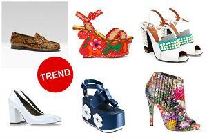 Modne buty na sezon wiosna/lato 2013 - 20 najciekawszych fason�w [DU�O ZDJ��]