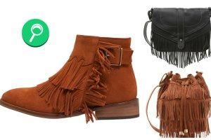 Buty i torebki z fr�dzlami - jesienny przegl�d