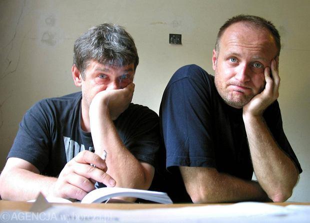 Marcin Świetlicki i Grzegorz Dyduch, 2002