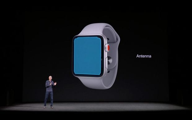 Ekran Apple Watch 3 to jego antena