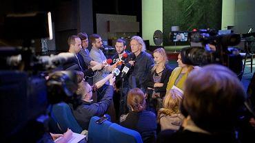 Dziennikarze po próbie prasowej