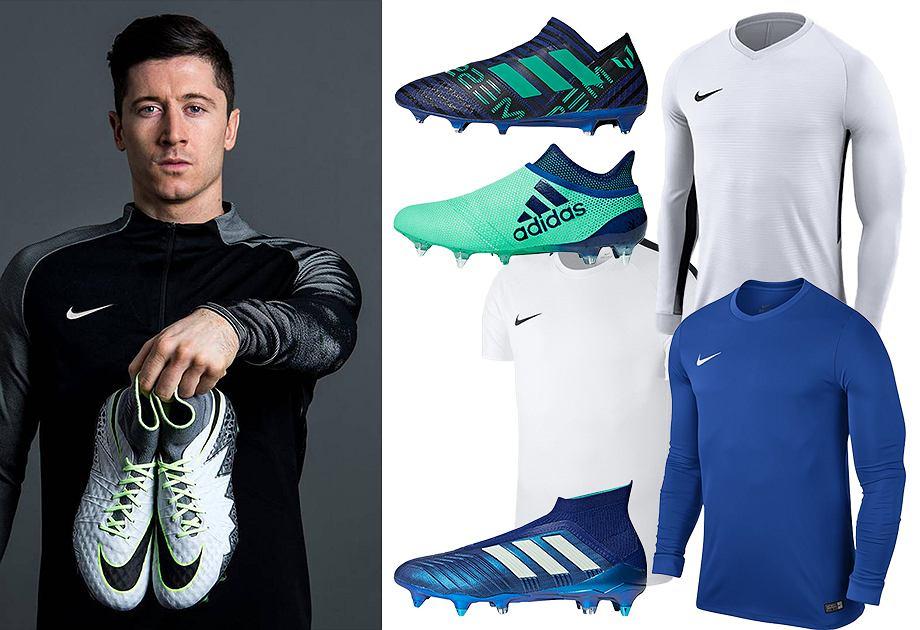 Ubrania i buty sportowe