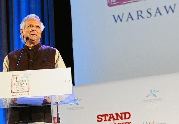 6XIII Swiatowy Szczyt laureatow pokojowej nagrody Nobla