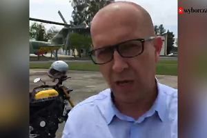 """Temat dnia """"Gazety Wyborczej"""": Wizyta w bazie F16"""