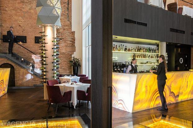 Restauracja Senses - wnętrze