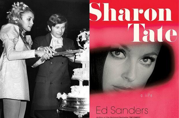 Roman Polański i Sharon Tate/okładka książki