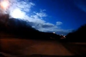 Nad Murma�skiem eksplodowa� meteoroid? B�ysk wybuchu zamieni� na chwil� noc w dzie� [WIDEO]