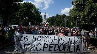Marsz równości i kontrmanifestacje w Częstochowie