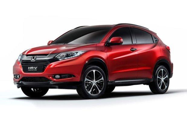 Salon Pary� 2014 | Honda HR-V | Jednak w Europie
