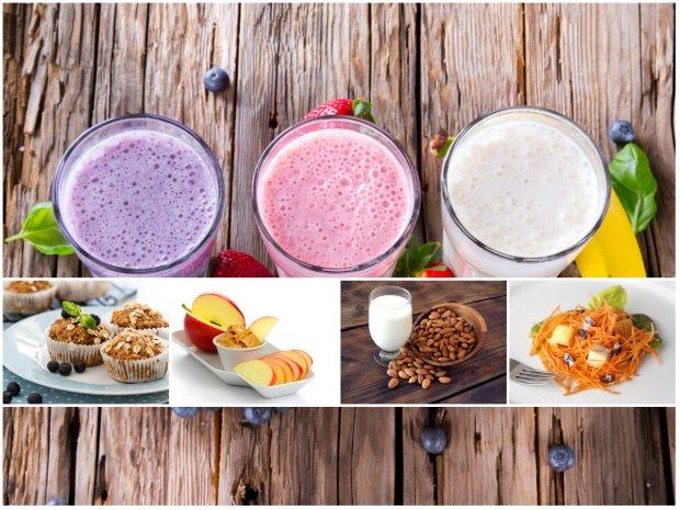 15 pomys��w na zdrowe przek�ski poni�ej 200 kalorii