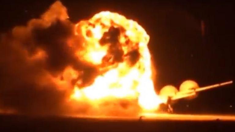 Eksplozja jednego z silników była bezpośrednią przyczyną katastrofy rosyjskiego Tu-95
