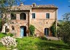 Wnętrza: dom wśród włoskich wzgórz