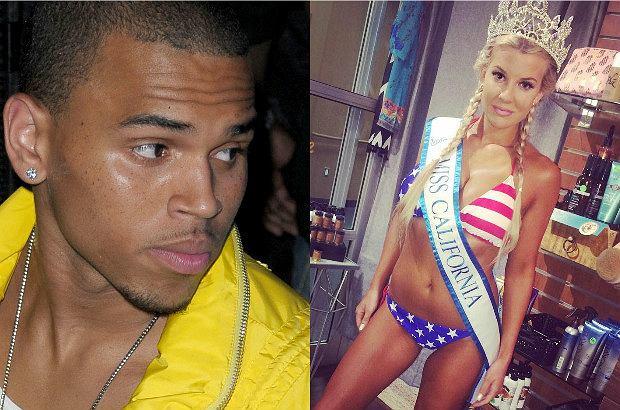 Chris Brown został aresztowany po trwającym 11 godzin oblężeniu jego domu przez policję. Jak donosi portal TMZ.com, raper groził byłej Miss Kalifornii bronią.