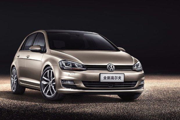 Volkswagen Golf Chiny