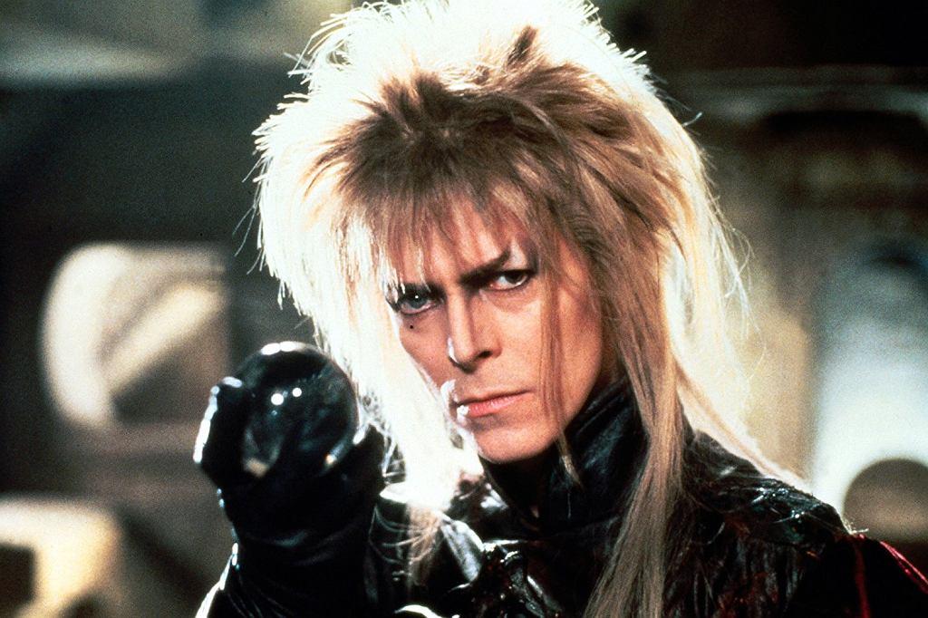 David Bowie w 'Labiryncie' / fot. oficjalne mat. promocyjne filmu