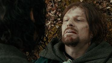 Kadr z filmu ''Władca Pierścieni: Drużyna Pierścienia''