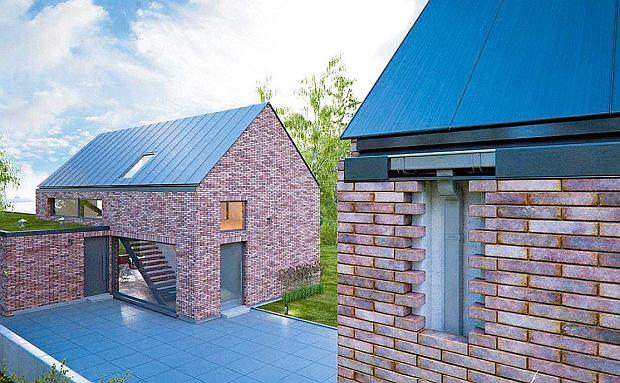 'Niewidoczne' orynnowanie dachu bez okapu