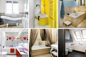 15 pomysłów na łazienkę z wanną
