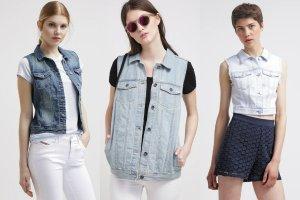 Jeansowe kamizelki - propozycje ciekawych modeli na wiosnę