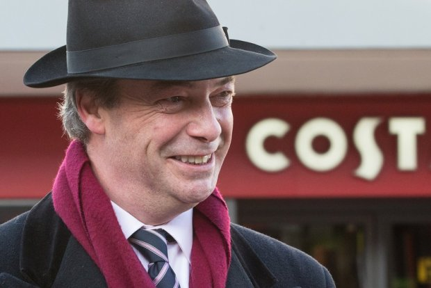 Internauci na Wyspach zakpili z populisty i eurosceptyka Nigela Farage'a