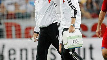 Marco Reus - pomocnik reprezentacji Niemiec i Borussii Dortmund nie pojechał do Brazylii z powodu kontuzji kostki. Teraz trenuje indywidualnie