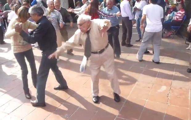 Tańczący dziadek