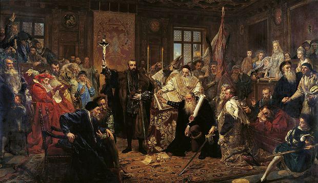 Jan Matejko 'Unia lubelska', 1869 r.