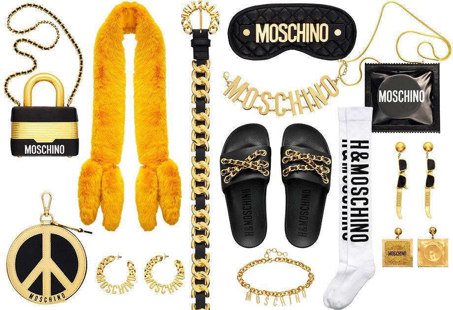 Moschino x H&M - dodatki z kolekcji damskiej