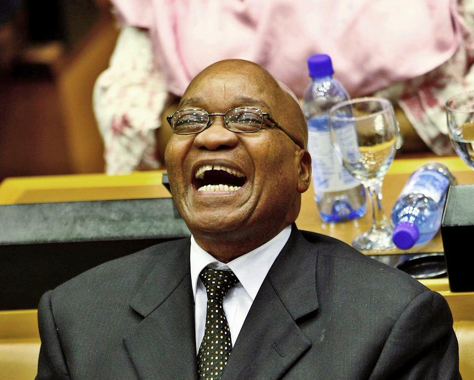 Jacob Zuma, prezydent RPA