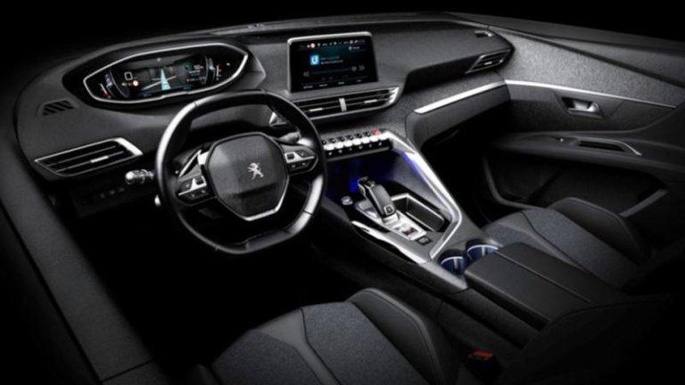 Tak wygl da wn trze peugeota 3008 for Peugeot expert interieur