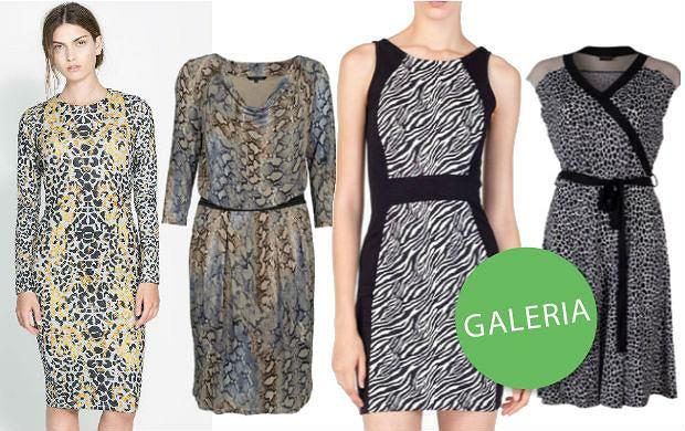 9844571a30 10 sukienek ze zwierzęcym motywem z jesiennych kolekcji