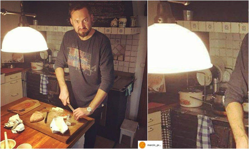 Marcin Prokop pokazał swoją kuchnię  Fajne kafle  A inne