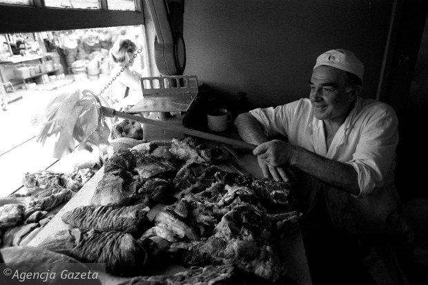 Bazar Szembeka, handel mięsem