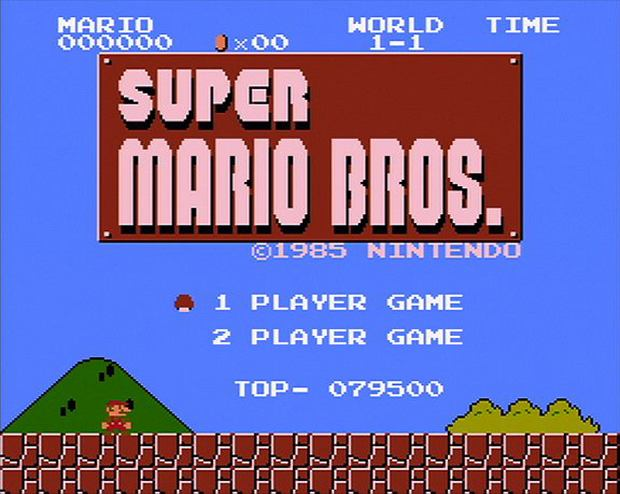 Super Mario Bros. (screen z gry)