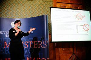 """Minister Edukacji Narodowej Joanna Kluzik-Rostkowska: """"Kilka agencji PR pracuje nad tym, �eby ta reforma si� nie uda�a"""""""