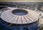 Kulminacyjny moment budowy Stadionu Śląskiego. Otwarcie we wrześniu