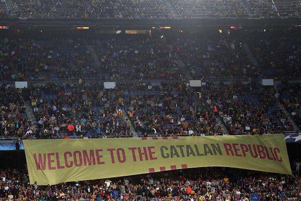 FC Barcelona zagrożona karą. Za baloniki z polityczną aluzją