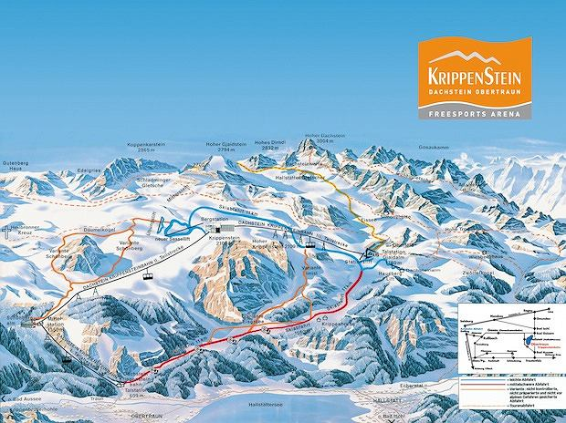Krippenstein, narty w austrii