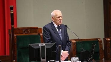 Kornel Morawiecki, marszałek senior Sejmu VIII kadencji