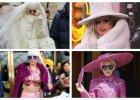Lady Gaga w naprawd� dziwacznych strojach. Traci kontakt z rzeczywisto�ci�? [FOTO + WIDEO]
