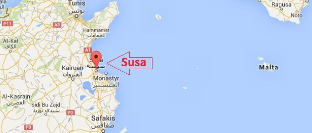 Zmach w Tunezji w miejscowości Susa (ang. Sousse). Zginęło co najmniej 7 osób